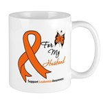 Leukemia Ribbon Husband Mug