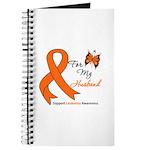 Leukemia Ribbon Husband Journal