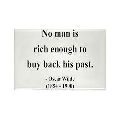 Oscar Wilde 20 Rectangle Magnet