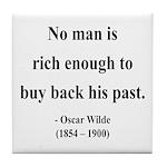 Oscar Wilde 20 Tile Coaster