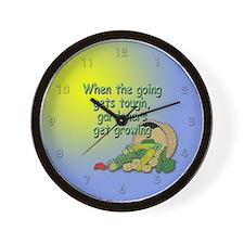 Get Growing Wall Clock