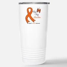 Leukemia Ribbon Grandson Travel Mug