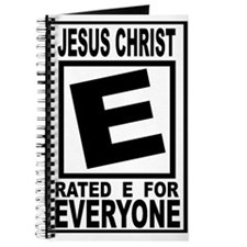 Jesus Christ Rated E for Ever Journal
