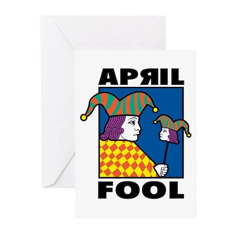 April Fool Greeting Cards (Pk of 10)