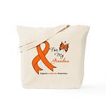 Leukemia Ribbon Grandma Tote Bag