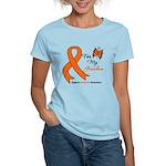 Leukemia Ribbon Grandma Women's Light T-Shirt