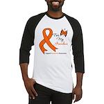 Leukemia Ribbon Grandma Baseball Jersey