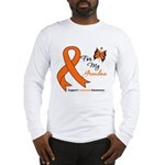 Leukemia Ribbon Grandma Long Sleeve T-Shirt