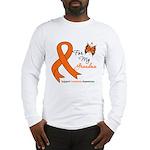 Leukemia Ribbon Grandma Long Sleeve T-Shirt