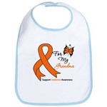 Leukemia Ribbon Grandma Bib