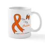Leukemia Ribbon Grandma Mug