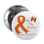 Leukemia Ribbon Grandma 2.25