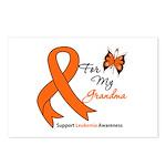 Leukemia Ribbon Grandma Postcards (Package of 8)