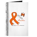 Leukemia Ribbon Grandma Journal