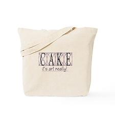 """""""Cake Art"""" Tote Bag"""