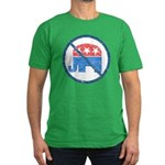 Anti GOP Men's Fitted T-Shirt (dark)
