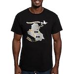 Bombing Democracy Men's Fitted T-Shirt (dark)