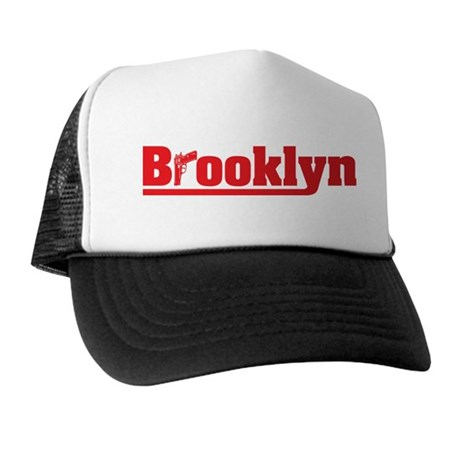 BROOKLYN GUN LOGO Trucker Hat