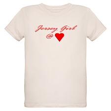 Jersey Girl @ Heart T-Shirt