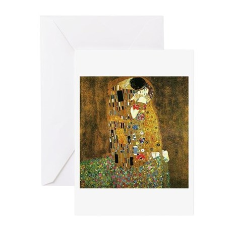 THE KISS Greeting Cards (Pk of 10)