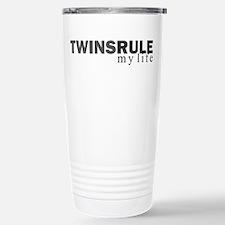 TWINS RULE my life Travel Mug