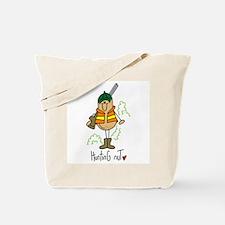 Hunting Nut Tote Bag