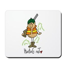 Hunting Nut Mousepad