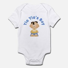 Yia Yia's Boy Infant Bodysuit