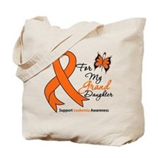 Leukemia Granddaughter Tote Bag