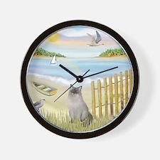 Rowboat / Ragdoll Wall Clock