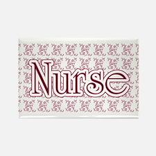 Pink Nurse Rectangle Magnet (10 pack)