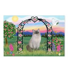 Blossoms / Ragdoll Postcards (Package of 8)