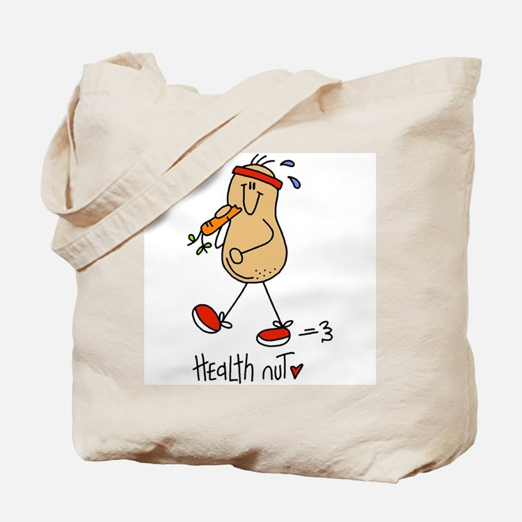Health Nut Tote Bag