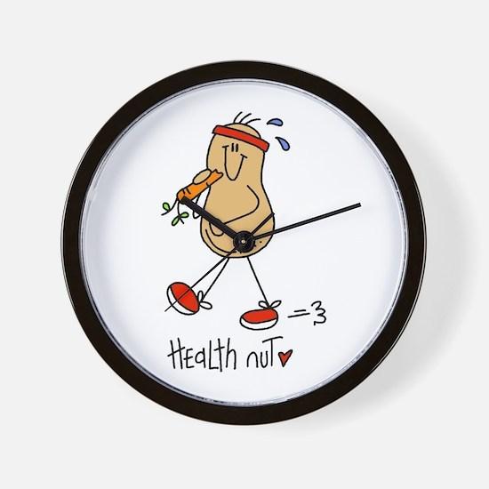 Health Nut Wall Clock