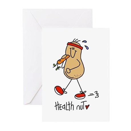 Health Nut Greeting Cards (Pk of 10)