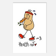Health Nut Postcards (Package of 8)