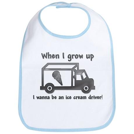 Grow Up Ice Cream Bib