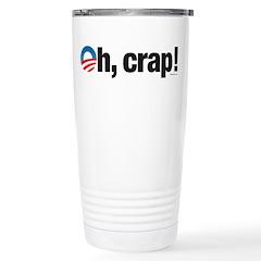 Oh, crap! Stainless Steel Travel Mug