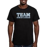 Team Anti Republican Men's Fitted T-Shirt (dark)