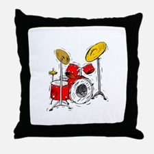 DRUM SET (4) Throw Pillow