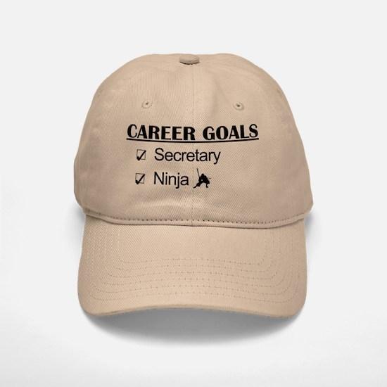 Secretary Ninja Career Goals Baseball Baseball Cap