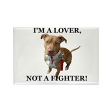 Unique Pit bull terrier dog breed Rectangle Magnet