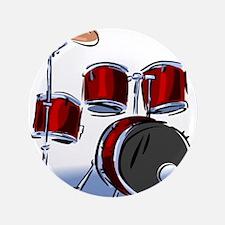 "DRUM SET (5) 3.5"" Button (100 pack)"