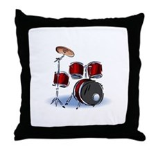 DRUM SET (5) Throw Pillow