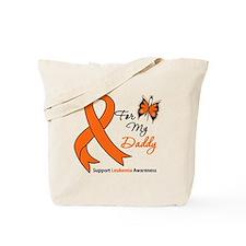 Leukemia Ribbon Daddy Tote Bag