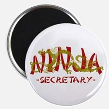 Secretary Dragon Ninja Magnet