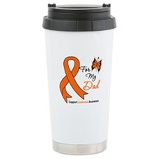 Leukemia Ribbon Dad Travel Mug
