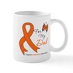 Leukemia Ribbon Dad Mug