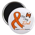 Leukemia Ribbon Dad Magnet