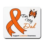 Leukemia Ribbon Dad Mousepad